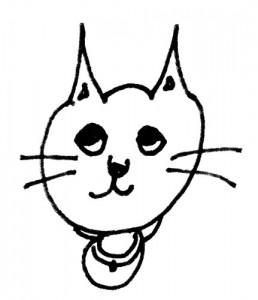 Yukkyが描いたネコ(20111126)