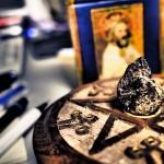 隕石と五芒星