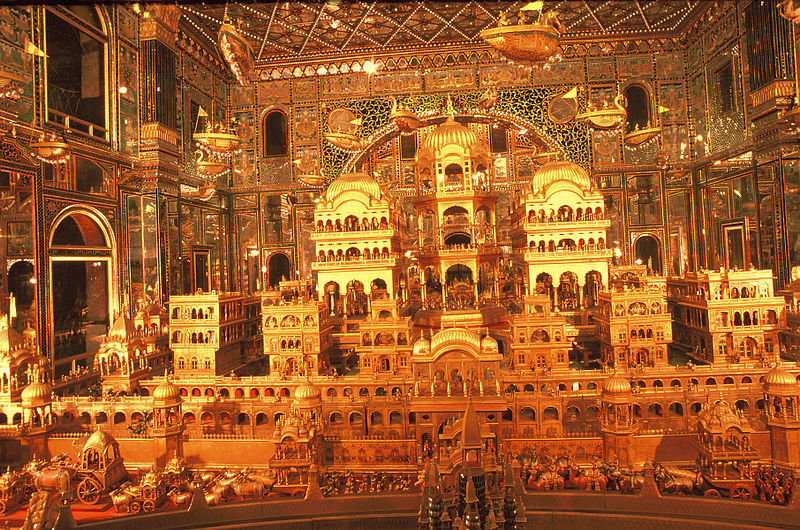 ナスィーヤン・ジャイナ教寺院 黄金のホール