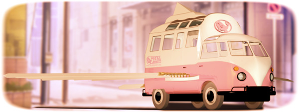 ヤマトクジラロジスティクスが、主に家庭用の宅配物配送に使用している、ワゴン車型シャクナ・ヴィマーナ