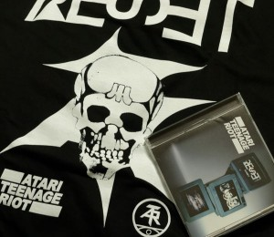 ATR最新アルバム「RESET」とTシャツを会場で買いました。