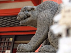 東京神楽坂毘沙門天