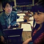 ミーティング風景(Yukky&Zaza)