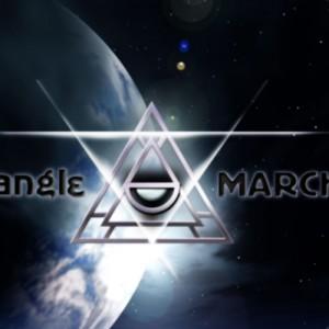 地球に臨むTriangleMarch
