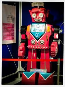 科学技術館のガイドロボット一郎君